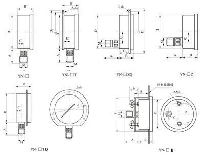 首页 03 隔膜压力表安装示意图    特性及用途   气体密度继电器为